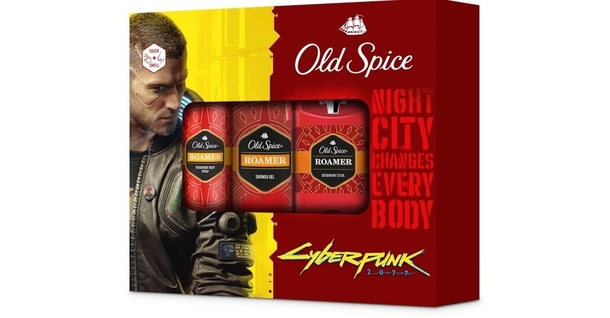 Old Spice подарочный набор Cyberpunk 2077