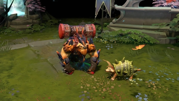 Спутники в Dota 2: преданный волчонок и товарищ-броненосец