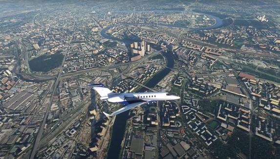Реалистичное здание МГУ и Кремль без стен — как выглядит Москва в Microsoft Flight Simulator