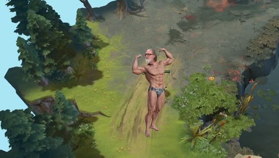 Фанат Dota 2 предложил концепт персонажа Гейба Ньюэлла