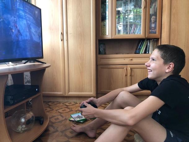 Xbox для Максима во время болезни стала чем-то большим, нежели просто игровой консолью