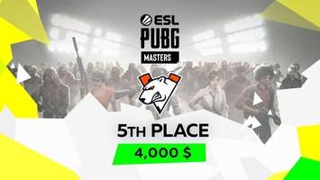 Virtus.pro takes 5th place in ESL PUBG Masters 2021 Europe Spring