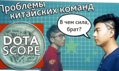 Dotascope 3.0. Проблемы китайских команд