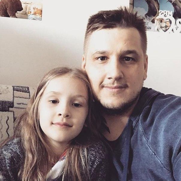 Zeus вместе со своей дочкой