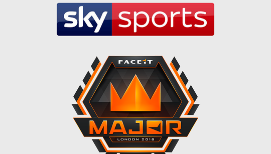 Sky Sports to broadcast FACEIT London Major finals