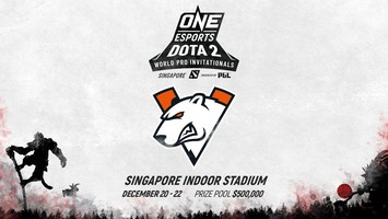 Virtus.pro invited to ONE Dota 2 Singapore
