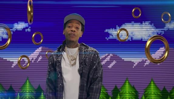 Доктор Эггман преследует рэперов — Wiz Khalifa записал трек и клип про Соника