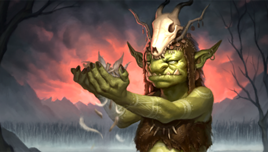 New blue Artifact card revealed: Troll Soothslayer