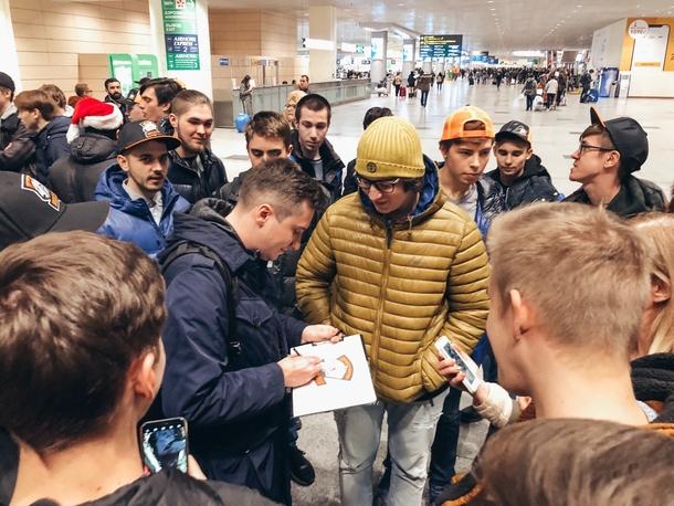 Алексей Solo Березин общается с олдами