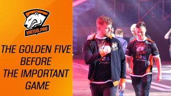 VP at ELEAGUE Major: One day with the Golden Five