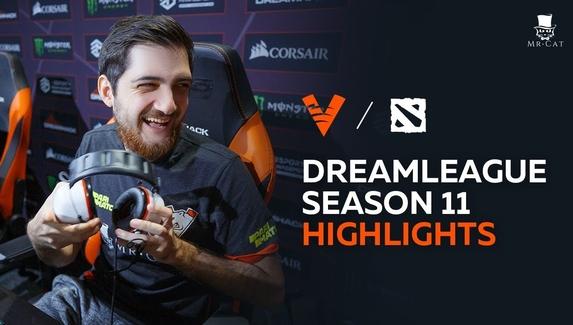 Лучшие моменты Virtus.pro на DreamLeague Major