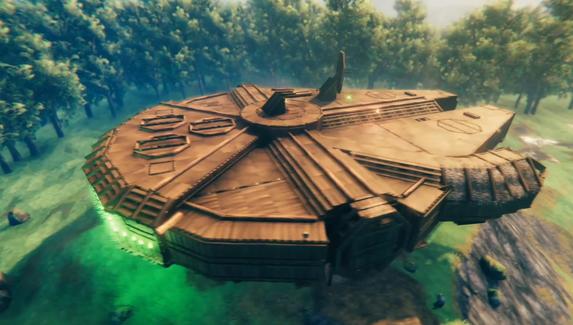В Valheim воссоздали «Тысячелетний сокол» из «Звездных войн»
