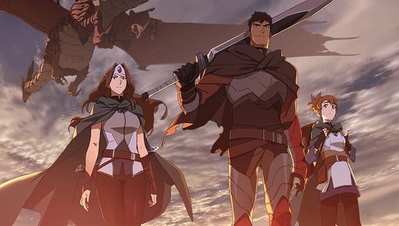 Состоялся релиз аниме «DOTA: Кровь дракона»