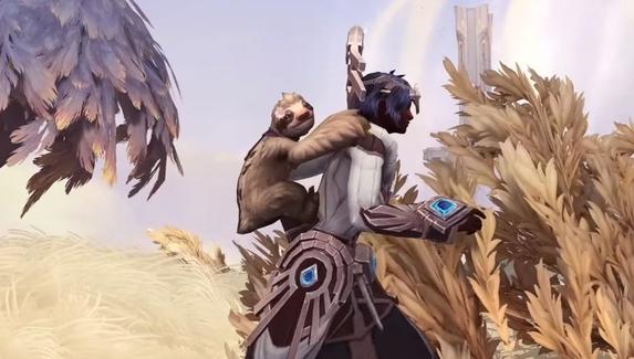 В WoW появится питомец-ленивец, который будет висеть на персонаже на манер рюкзака