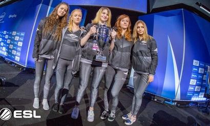 ESL разыграет $50 тыс. на женском турнире по CS:GO