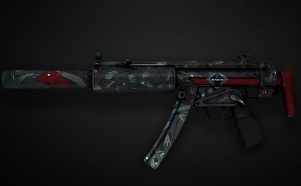 Souvenir MP5-SD | Lab Rats