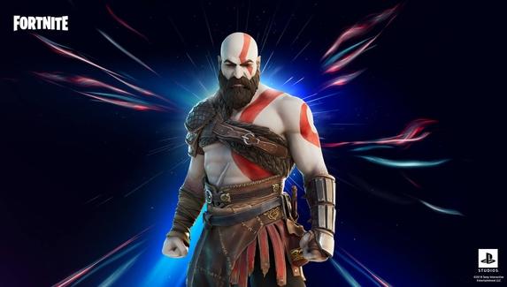 В Fortnite появился скин Кратоса из God of War