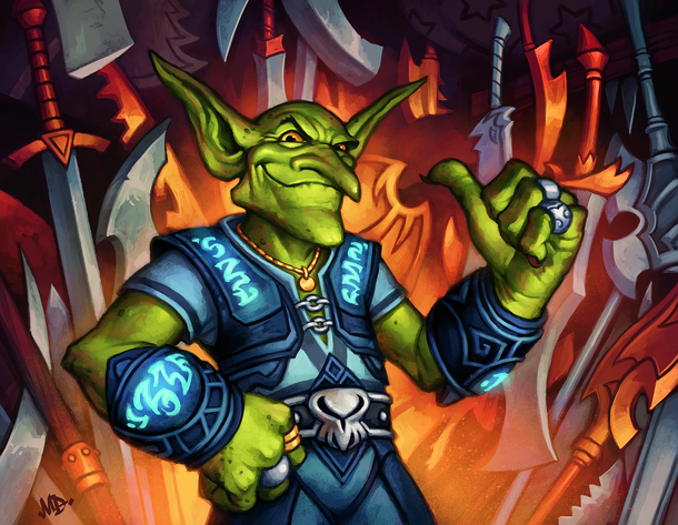 Goblin Auctioneer ? Coin Мон Disguise ? Victory