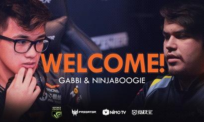 Gabbi и ninjaboogie стали игроками TNC Predator