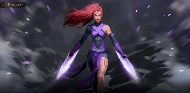 Женская версия Anti-Mage в Dota 2