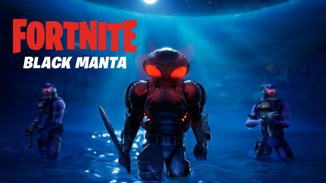 В Fortnite появились Аквамен и его заклятый враг Чёрная Манта