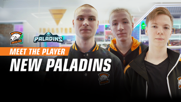 Virtus.pro with a new Paladins roster