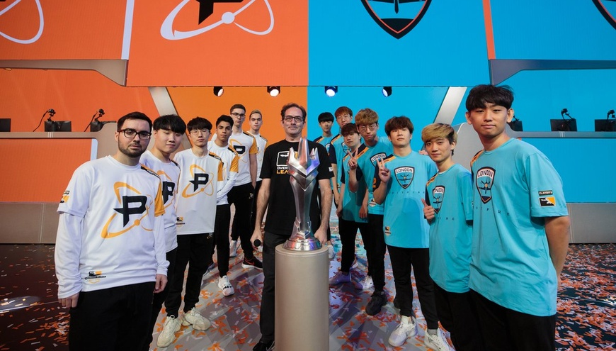 London Spitfire to face Philadelphia Fusion in Overwatch League Grand Finals