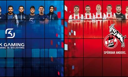 SK Gaming и ФК «Кёльн» стали партнёрами