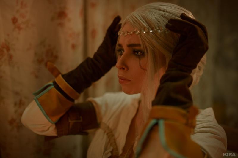 Косплей на Цири из The Witcher 3: Wild Hunt. Косплеер: Мария Журавлёва. Источник: vk.com/cosplay.world