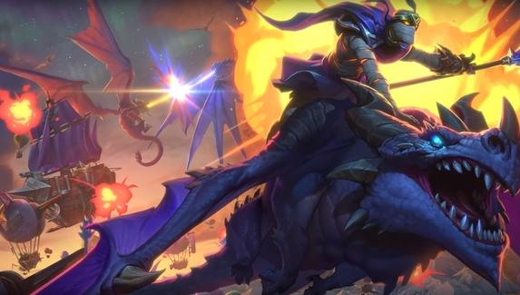 Blizzard представила следующее дополнение для Hearthstone — Descent of Dragons