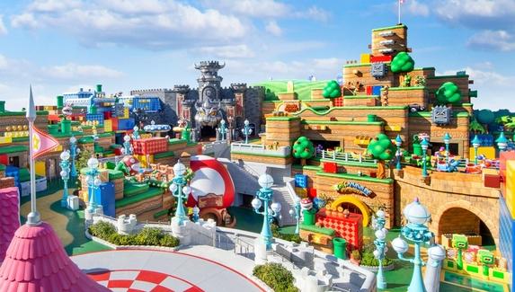 Объявлена дата открытия парка развлечений Super Nintendo World