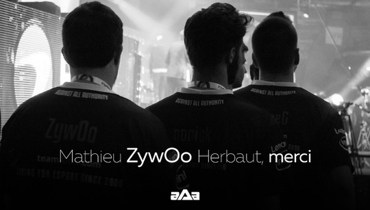 ZywOo parts ways with against All authority