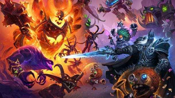 Совсем недавно в Hearthstone добавили режим «Поля сражений» — автобаттлер, который по традиции целиком строится на рандоме Источник: Blizzard Entertainment