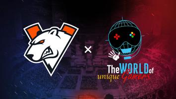 Virtus.pro становится партнёром киберспортивного чемпионата в рамках движения «Мир уникальных геймеров»