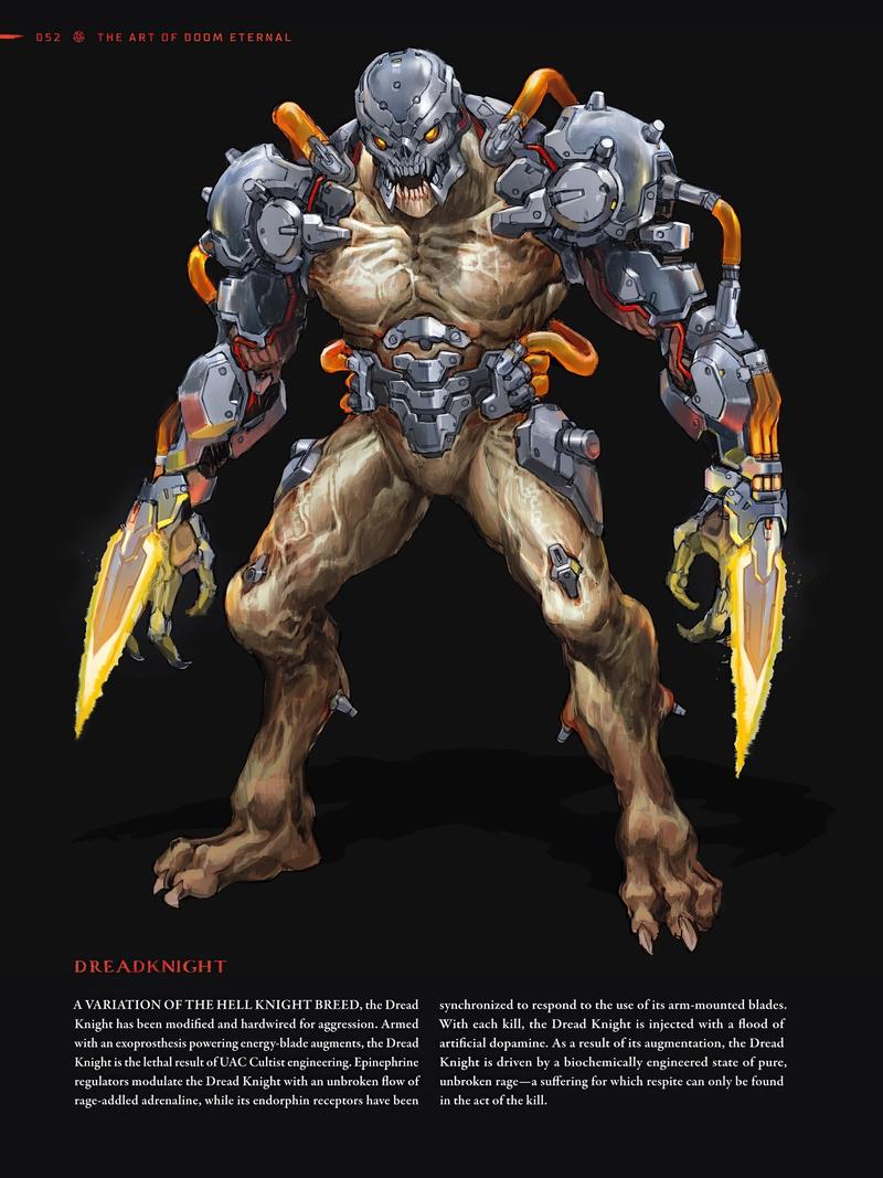 Возможно, изображение из артбука Doom Eternal. Источник: resetera.com