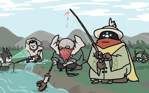 Fan Art - League of Legends Fishing Heroes