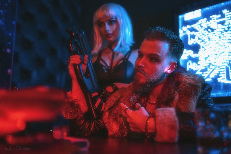 Косплей на Cyberpunk 2077. Косплеер Ройса: Александр Кузьменков. Фотограф: Николай Жаров. Источник: vk.com/nikolay_photogroup