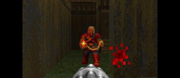 В какой версии Doom появляется противник-пулемётчик?