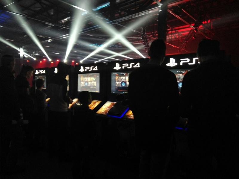 Стенд PlayStation