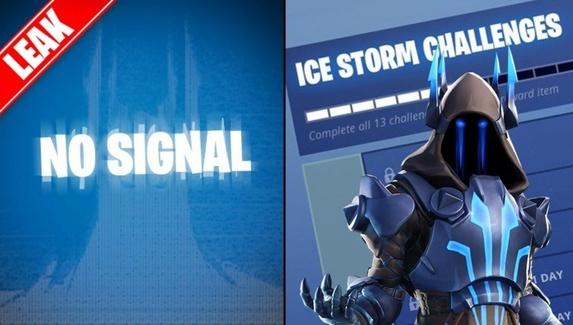 В Fortnite пройдет зимнее событие Ice Storm