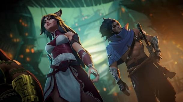 Ahri и Yasuo в трейлере игры