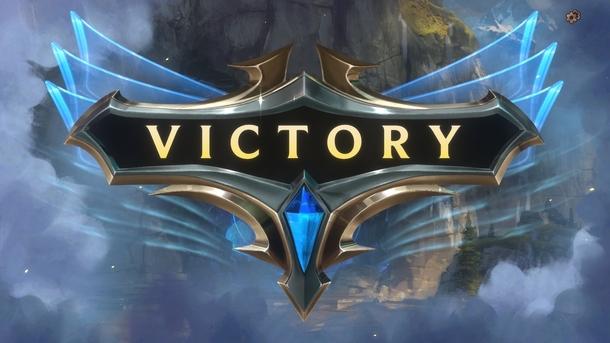 Победный экран в Legends of Runeterra