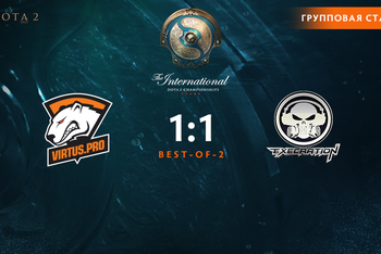 Virtus.pro defeated Digital Chaos and ended in a tie with Execration