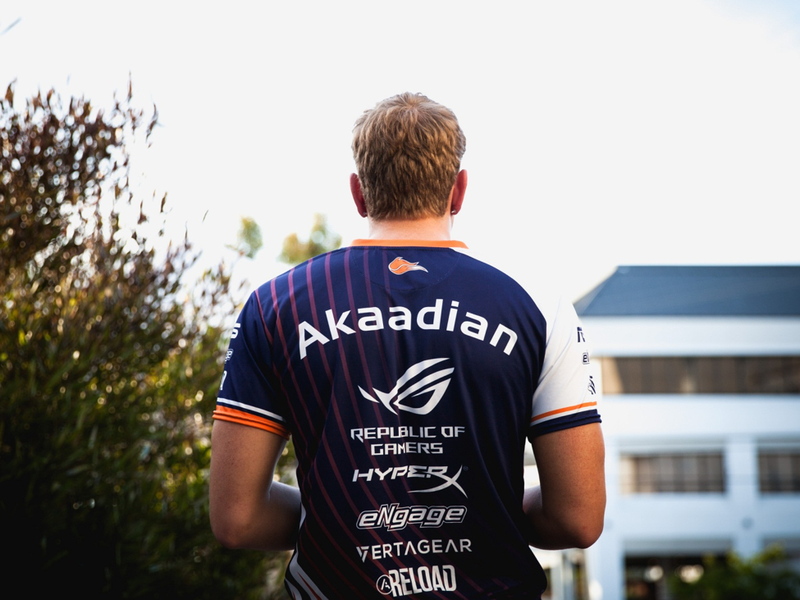 "Matthew ""Akaadian"" Higginbotham starts his 2nd split with Echo Fox this Summer. / Riot Games"