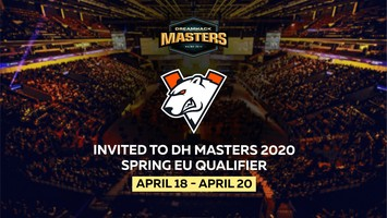Virtus.pro will play in DreamHack Masters Spring 2020 Closed Qualifier