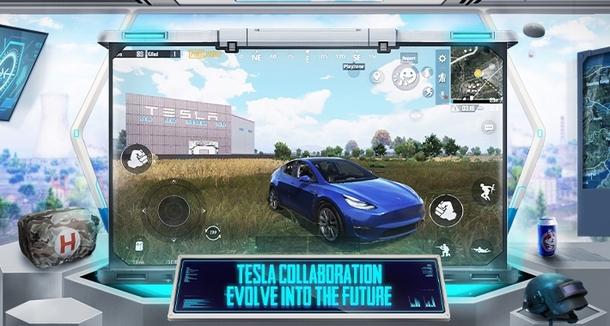 В PUBG Mobile появился завод и автомобили Tesla
