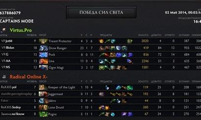 The Summit: Легкая победа Virtus.pro