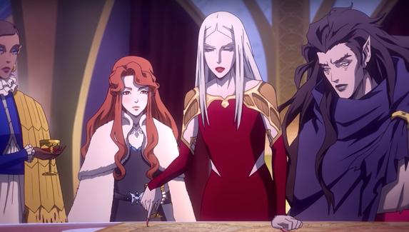 Состоялся релиз последнего сезона аниме Castlevania