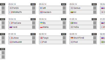 WCS Europe 2014 S2: sLivko начнёт против Golden