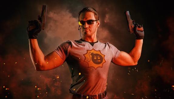 Самый серьезный парень — косплей на персонажа Serious Sam 3: BFE